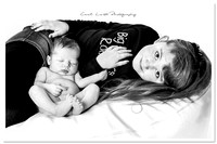Newborn at home photographer Aberdeenshire