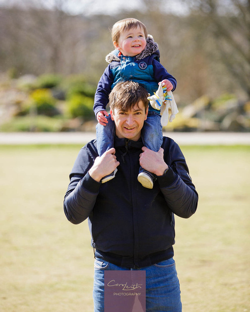 Spring family photoshoot Aberdeenshire