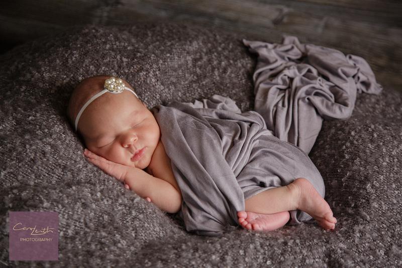 Newborn photography of Baby Girl
