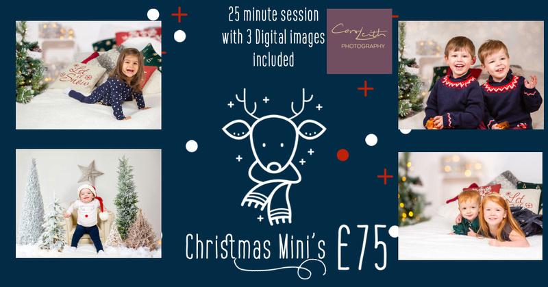 Christmas photo shoot Aberdeen