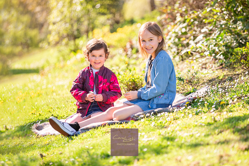 Natural family photography in Aberdeenshire