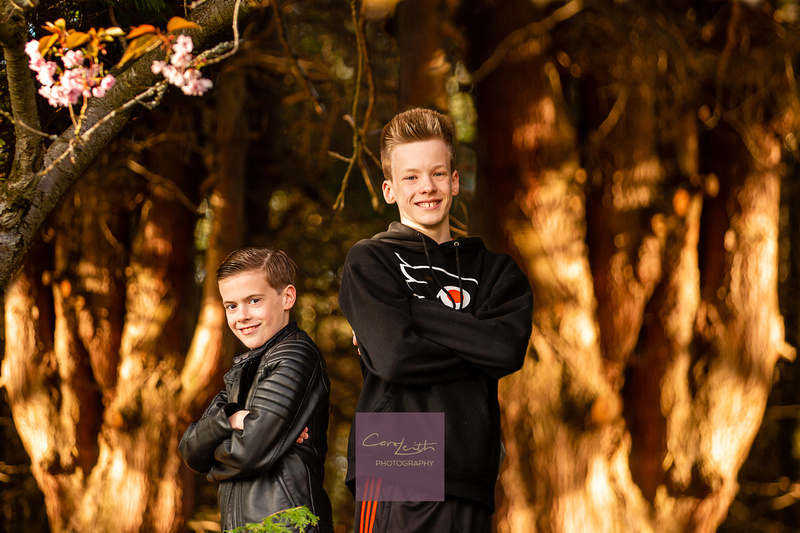 Aberdeenshire Evening summer photo sessions for teenagers
