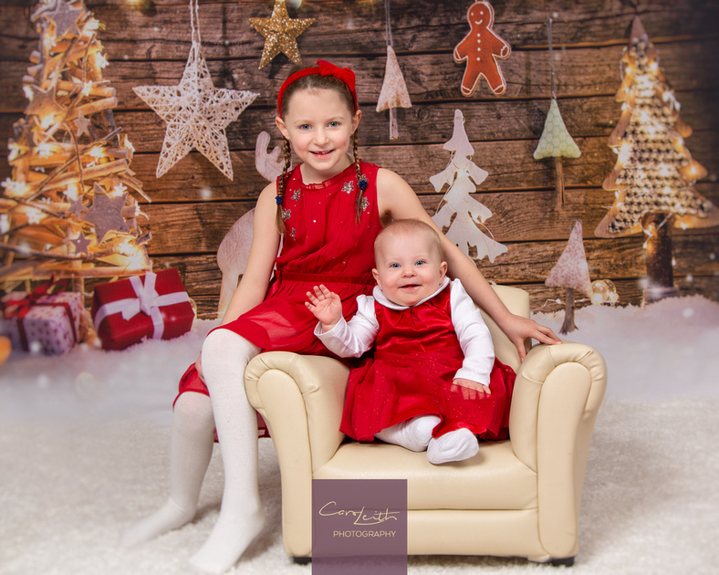 Christmas photoshoots of your family in Aberdeenshire