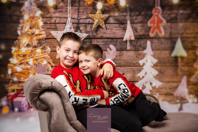 Christmas photos in Aberdeenshire