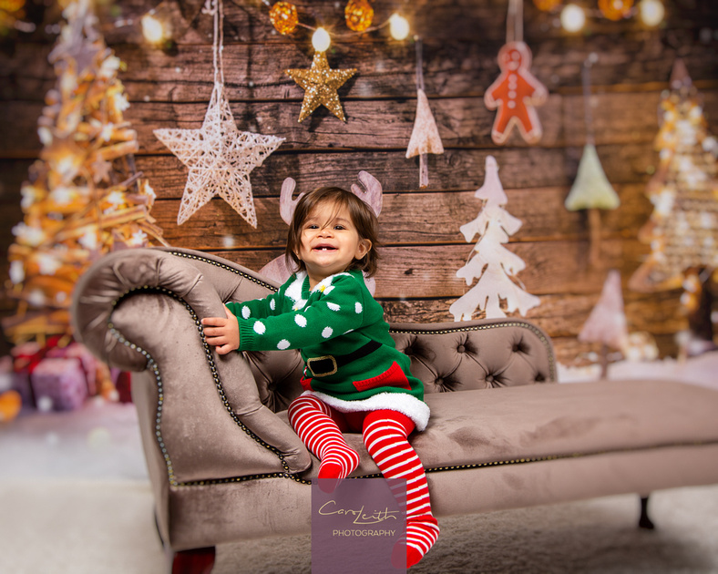 Aberdeen Christmas photo portraits of your family