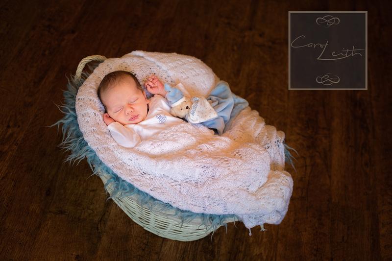 Newborn at home photo session Aberdeen, Scotland