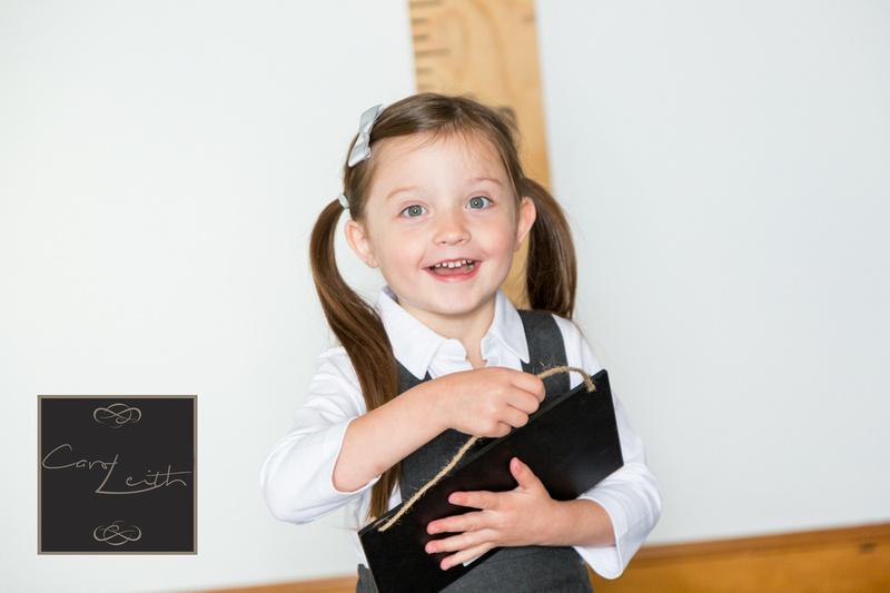 Starting school portraits