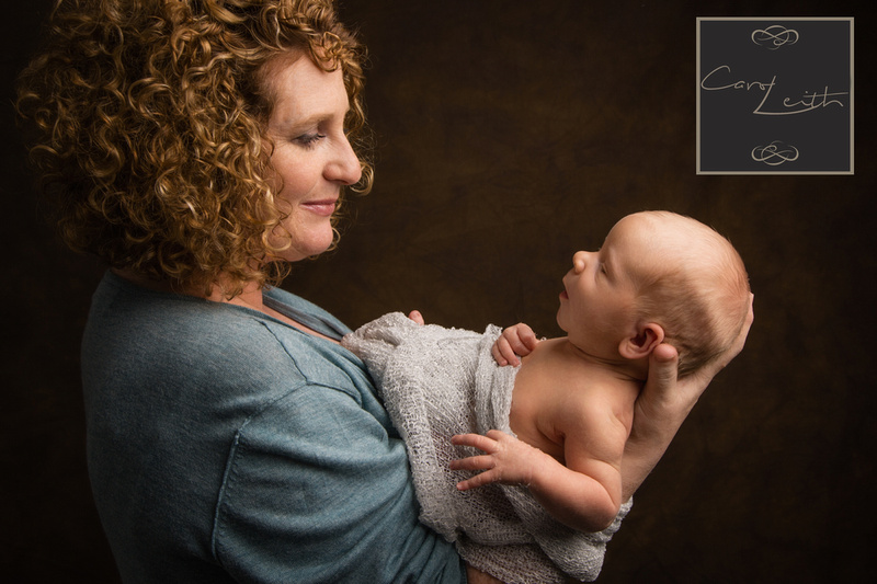 Newborn photo shoots by Carol Leith