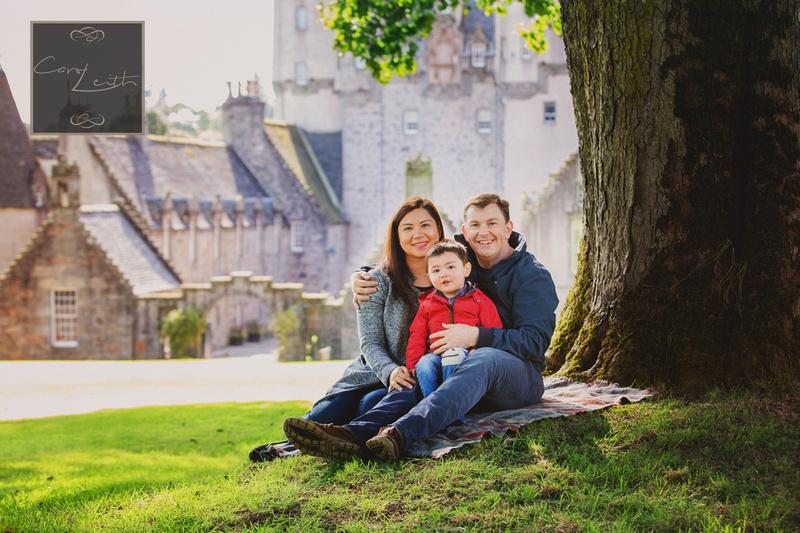 Family photo shoot in Aberdeen