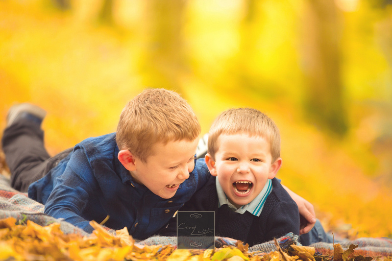 Carol Leith autumn photoshoots