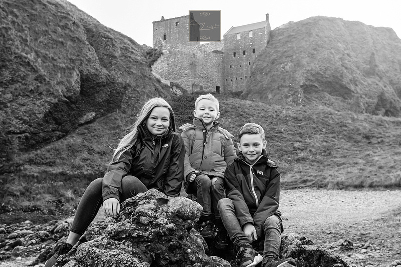 Portraits at Dunnotter castle