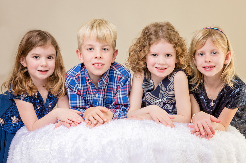 Studio family photography in Aberdeen