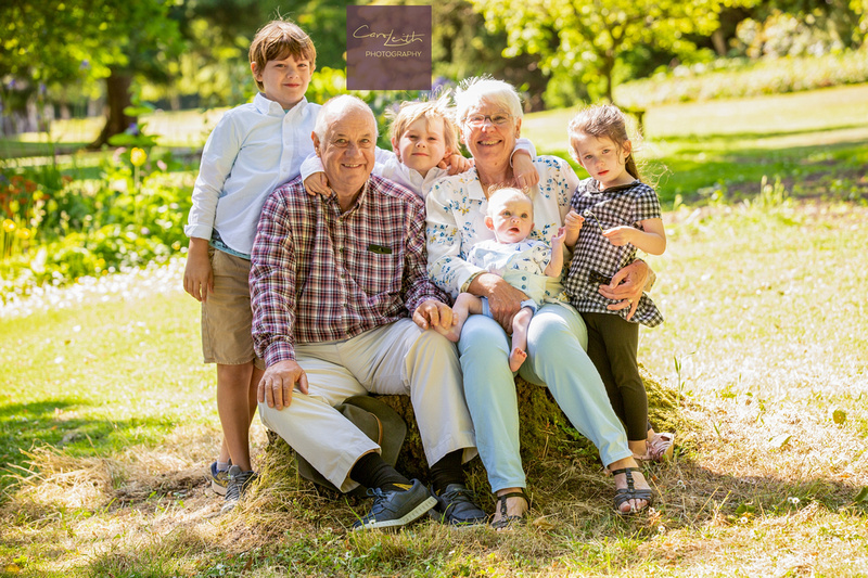 Relaxed family photographer in Aberdeenshire