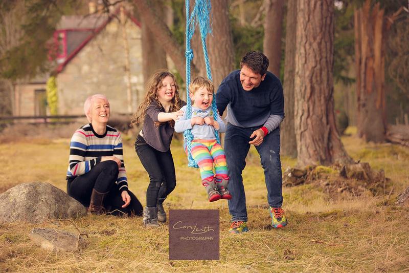 Ballater & Braemar family photographer