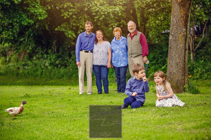 Get the family all together, family photography