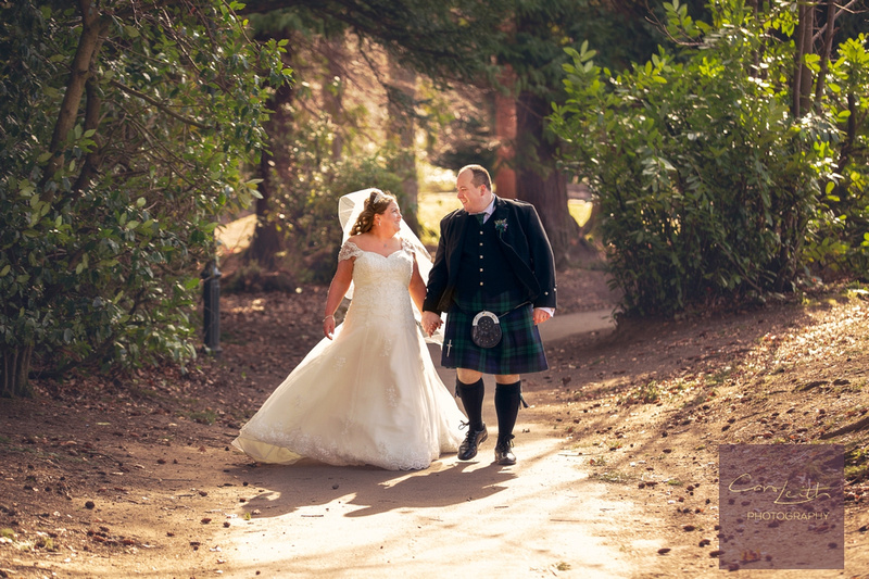 Wedding day photography by Carol Leith